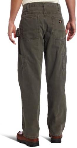 Dickies Pantalon Weatherford Pantalon de travail, Rincé Moss Green, 44W x 32L
