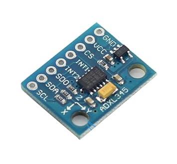 SPI Digitaler Neigungs und Beschleunigungssensor ADXL345 IIC