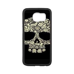 HXYHTY Skull Art 3 Phone Case For Samsung Galaxy S6 G9200 [Pattern-4]