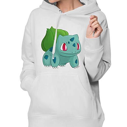 Aidear Bulbasaur Women Long Sleeve Hoodie Plus Size Hooded Sweatshirt Coat30