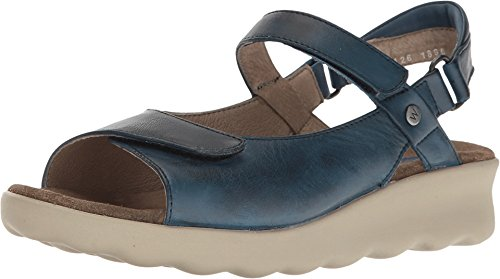 Wolky Comfort Sandals 01890 Pichu Blue