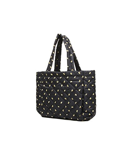 MARC BY MARC JACOBS FEMME M0007643GL JAUNE/NOIR POLYAMIDE SAC TOTE