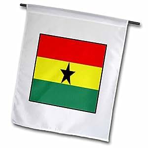 Florene World Flag Buttons - Photo Of Ghana Flag Button - 18 x 27 inch Garden Flag (fl_80965_2)