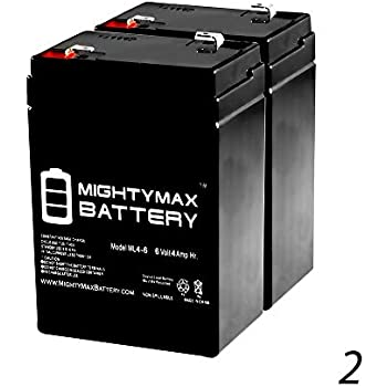 6V 4.5AH Replacement Battery for CSB CP640-3 Pack Brand Product Mighty Max Battery ML4-6
