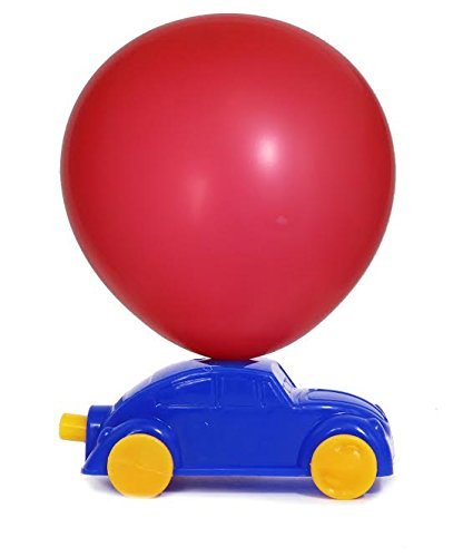 Pack of 12 Balloon Race Cars for Kids Party Favor