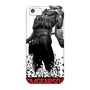 Shock-dirt Proof Metal Gear Solid 4 Case Cover For Iphone 5c