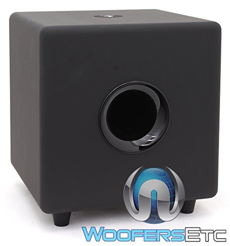 Focal CUB3 Black Compact Active Subwoofer for Home Theater