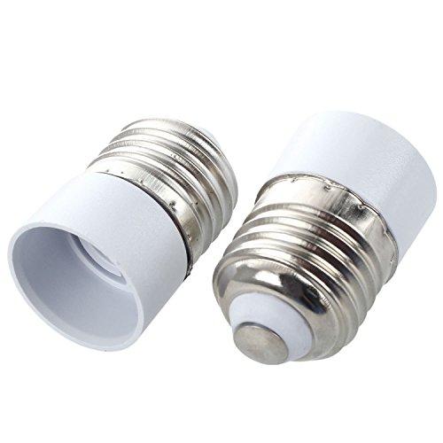 E27 To E14 Lamp - (Pack of 5) E27 to E14 Base Socket LED Light Lamp Bulbs Adapter Converter