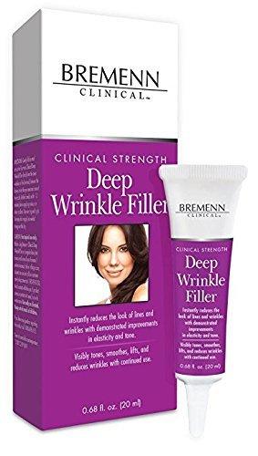 Bremenn Clinical Deep Wrinkle Filler, 0.68 Ounce/20ml.