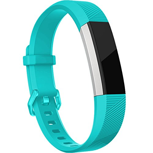 Maledan For Fitbit Alta HR and Alta Bands(12 Pack), Replacement Accessories Wristbands for Fitbit Alta and Alta HR, Large