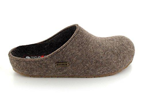 Adulti 033 711 Pantofole Braun top Unisex Haflinger Low dqBt6dw