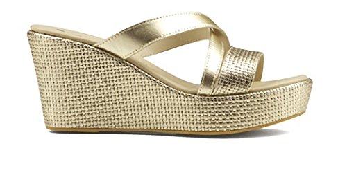 Susimoda Women's Fashion Sandals Grey Platino fGAPsHmgw