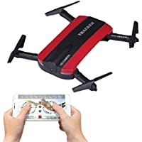 Rc Quadcopter Foldable Mini Dronex With HD Camera Wi-Fi FPV and 3.7V 550mAh Battery ect