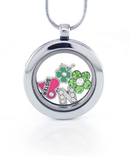 Mini Locket Necklace - 4