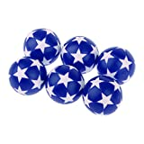 D DOLITY 6Pcs/lot 32mm Mini Soccer Table Foosball Ball Football Fussball Futbol Replacement Ball Football for Kids Toy Gift