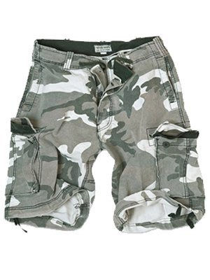 Surplus Military Style Combat Vintage Cargo Mens Shorts Washed Cotton Urban  Camo 0c55448df43