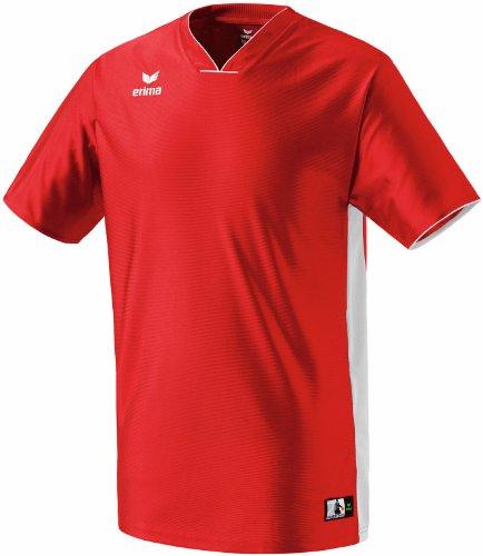 erima Kinder Trikot Overtime Shooting Shirt, rot/weiß, 164, 613241