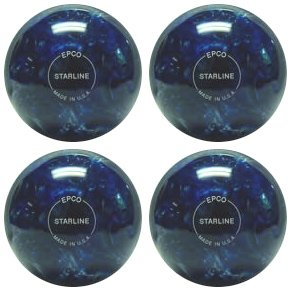 EPCO – Candlepin Bowling Balls ball- Starline 1/2 – ブルー&パール – 4 Balls B00GN2YZ3W 4 1/2 inch- 2lbs. 6oz., コラーゲン専門店シーエスストアー:6fcdbab3 --- sharoshka.org