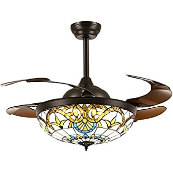 52 Inch Modern Ceiling Fan Light With Remote Control 5