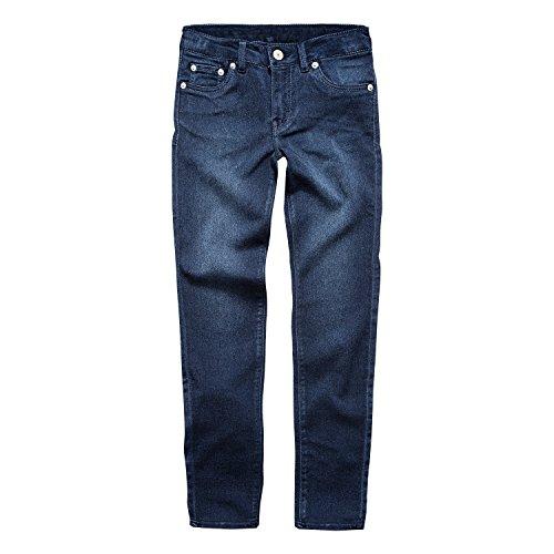 0 Super Skinny Fit Soft Jeans, Dark Indigo, 10 ()
