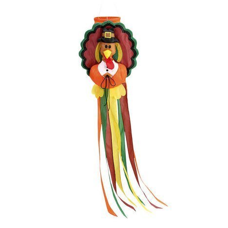 Thanksgiving Outdoor Decor (Thanksgiving Turkey Windsock Large 50