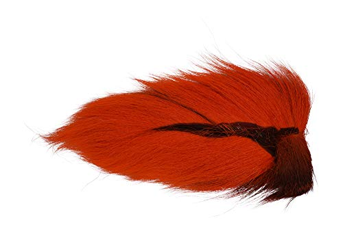 Hareline Dubbing Bucktails-Large Northern-Hot Orange