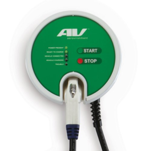 Aerovironment Ev Charging Station  25 Cable  30A  7 2Kw  Ul Listed
