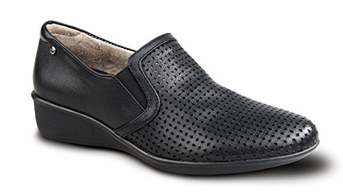 Revere Jordan Women's Comfort Shoe with Removable Footbed: Black 11 Medium (B) Slip-On by revere