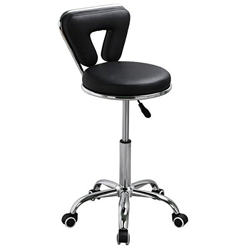 Topeakmart Spa Pedicure Chair Stool For Nail Hair Facial