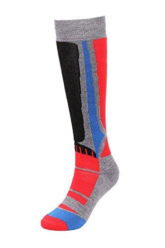Men's Winter Merino Wool Ski Socks w/ Moisture-Wicking Full Terry Interior, - Shop Livingston