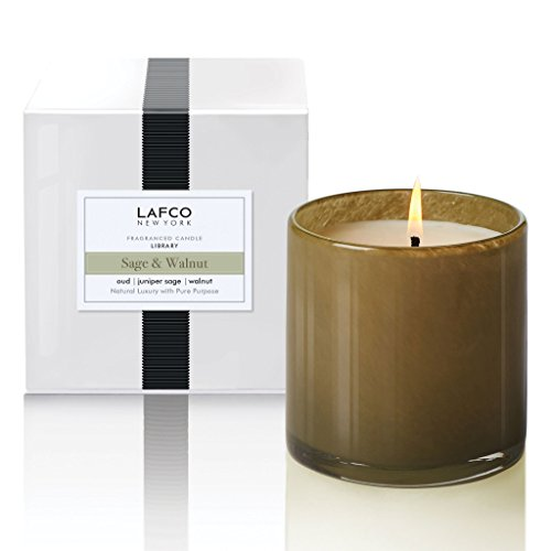 Lafco Library - Sage and Walnut Candle