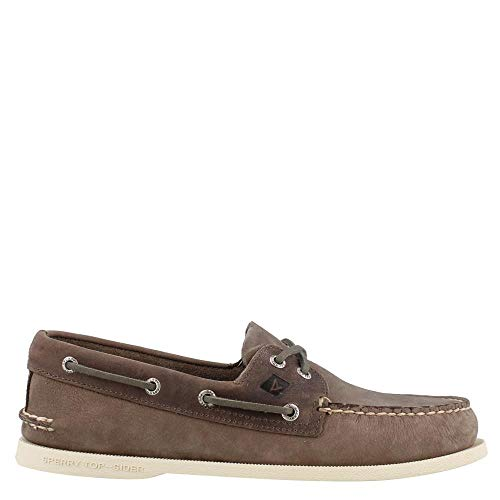 - Men's Sperry Topsider, Authentic Original Boat Shoe Charcoal 9 M