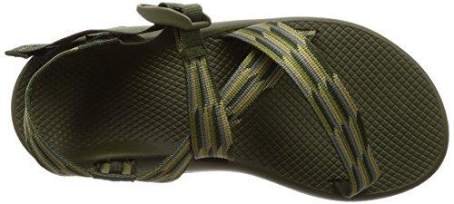 Chaco Mens Z1 Classico Sandalo Da Ginnastica In Fisarmonica Verde