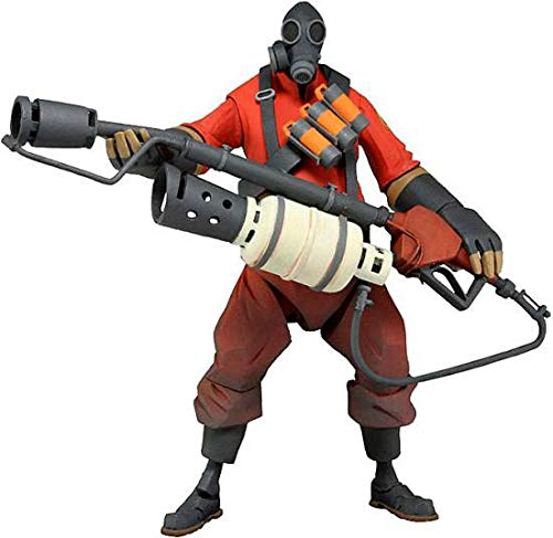 Team Fortress 2 Deluxe Actionfigur Pyro 17 cm