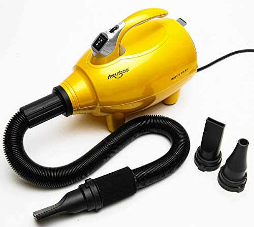 shernbao High Velocity Professional Dog/Pet Grooming Force Hair Dryer/Blower -4.0HP