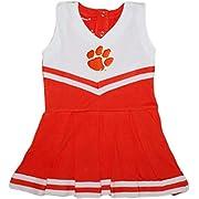 Creative Knitwear Clemson University Tigers Cheerleader Bodysuit Dress