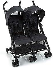 Carrinho de Bebê Gemeos Nano Two Safety 1st, Preto