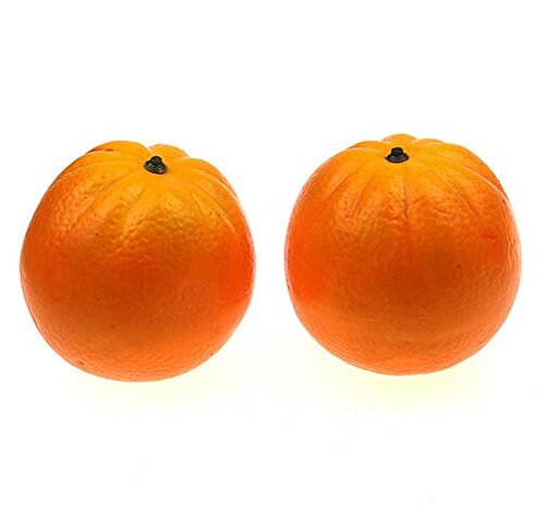 Decorations For Easter Decorations And Accessories 9.0 Cm Oranges