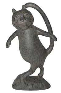 """'Oscar """"El Gato Estatua en musgo acabado"""