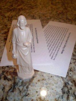 The Original St Joseph Home Sale Kit/Statue/Figurine -