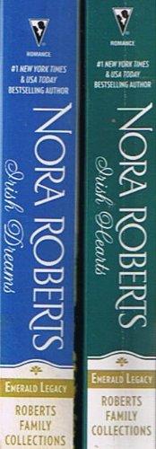 Emerald Legacy by Nora Roberts: Irish Hearts: Irish Thoroughbread and Its Sequel Irish Rose / Irish Dreams: Irish Rebel and Sullivan's Woman (2 Books / 4 Stories)