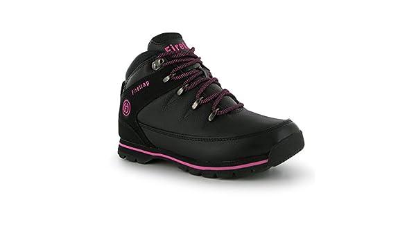 Rhino Botas de Traje de Neopreno para Mujer [Negro/Rosa, 4]: Amazon.es: Zapatos y complementos