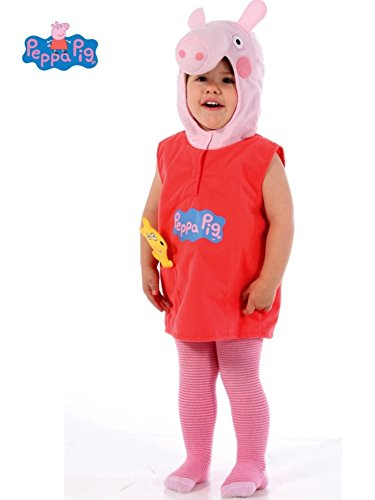 Partyweb Usa PWPEPPA Peppa Pig Toddler Costume (Halloween Costume Ideas For Toddlers)