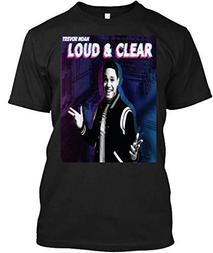 Load & Clear Edition Tour Trevor Noah 2019 005 Man Singer Soul International Music Pop Jazz 17 Tee|T-Shirt Black