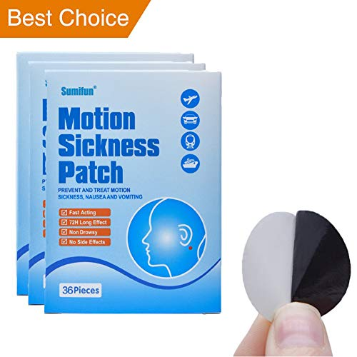 Sumifun 108 Counts Herbal Motion Sickness - Cruise Patch