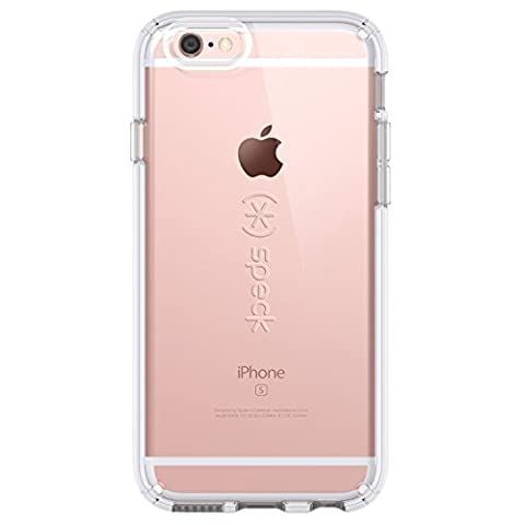 Speck 73685-5085 CandyShell Case for iPhone 6 Plus/6S Plus - Retail Packaging - Clear (Iphone 6 Speck Clear Case)