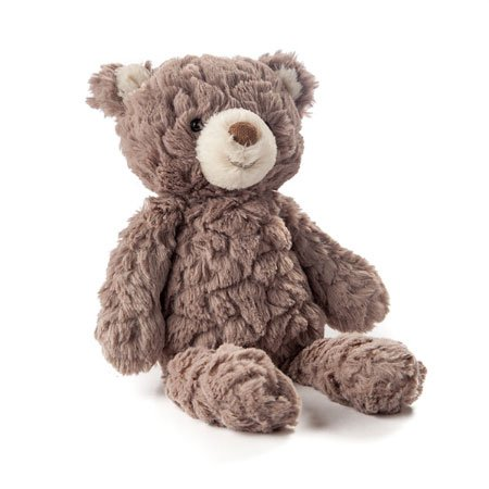 Mary Meyer Putty Bear Small Teddy Bear Soft Toy, Grey