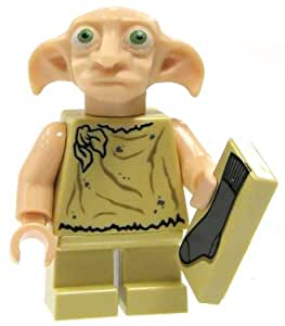 Lego Harry Potter Dobby Minifigure with Sock