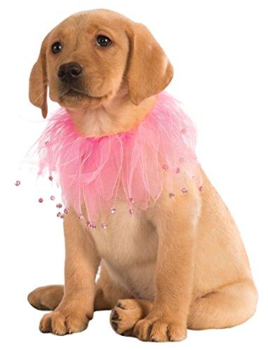 Rubie's Costume Co Fancy Pet Collar, Small/Medium, Pink