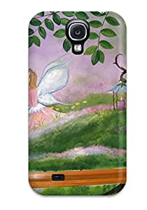 Cute High Quality Galaxy S4 Fairy Garden Mural For Girls Playroom Includes Glitter And Gemstones Case